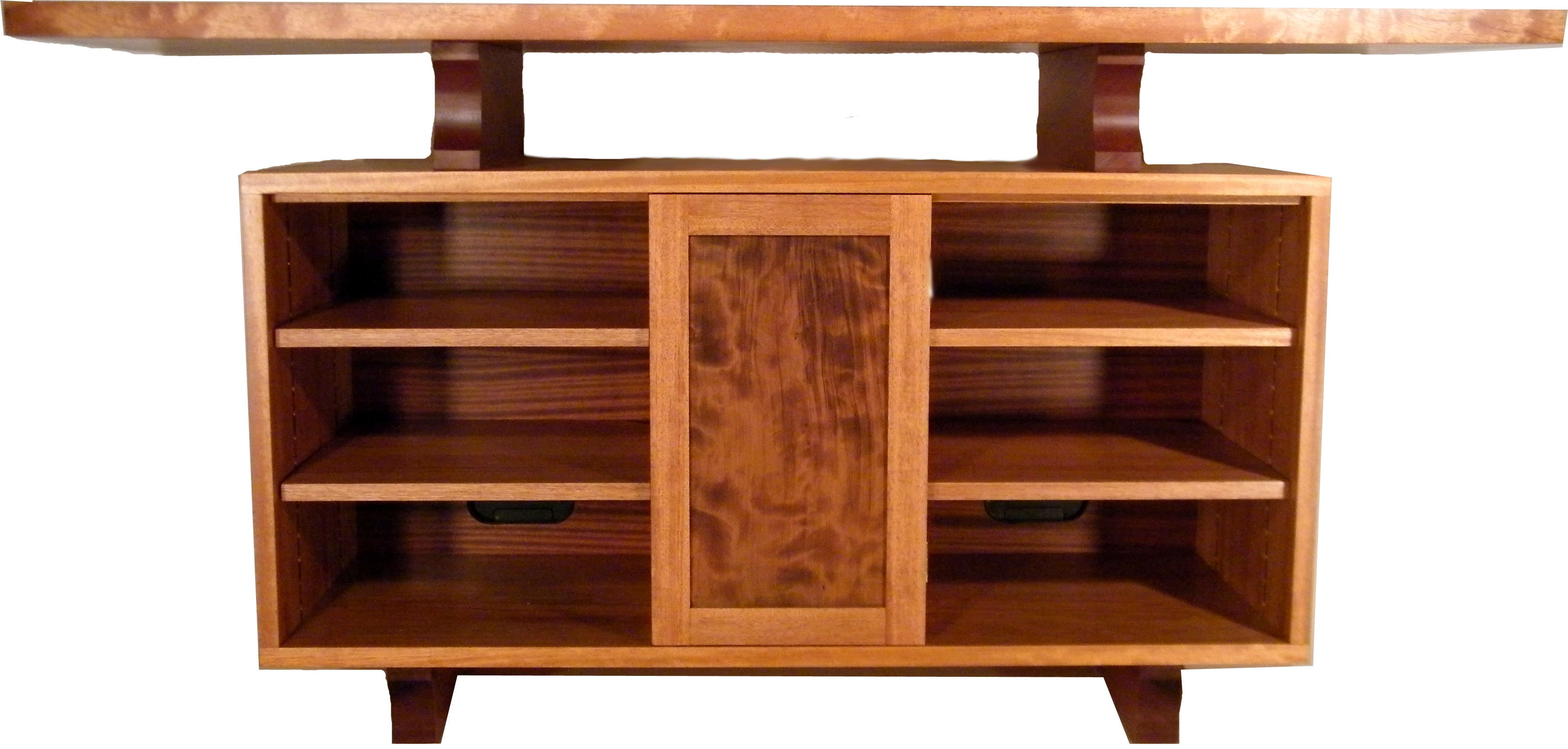 Custom wood furniture at the galleria for Wooden furniture