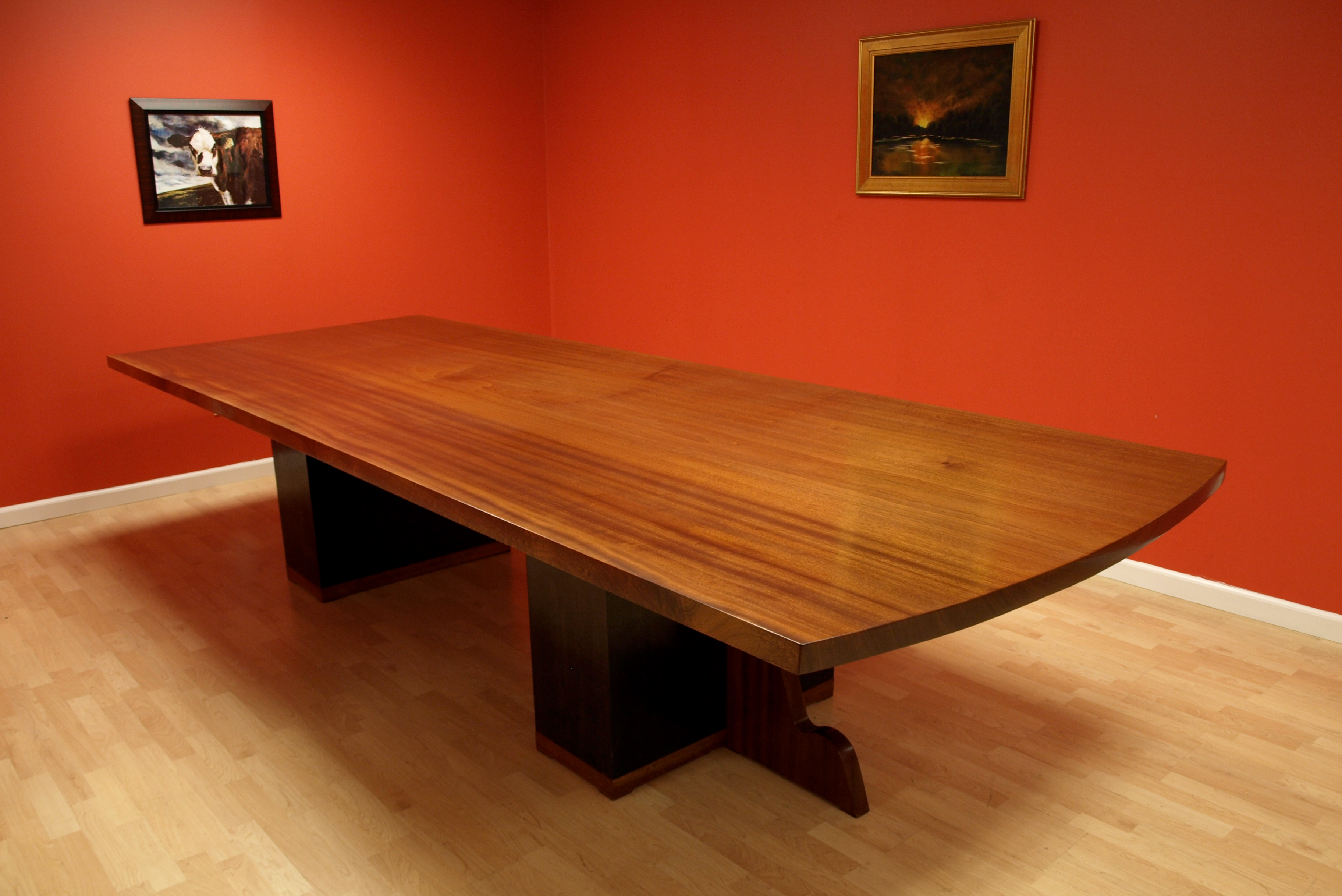 Large Conference Custom Designed Wood Furniture Nj Nyc
